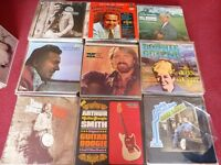 country & western / bluegrass lps approx 250 lps in total