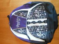 Brand New FoxyJeans Girl Bookbag-Purple-Smaller for a young girl