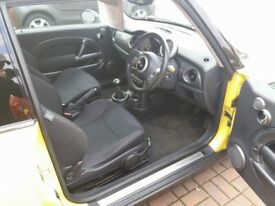 2006 mini one bright yellow 1.6 petrol