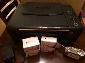 Kodak All-in-one printer and scanner, ESP C310, plus free ink cartridges!