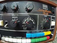 ROLAND COMPURHYTHM CR-68 Drum Machine 220v Compu Rhythm