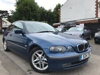 BMW 3 SERIES 2.5 325TI Automatic Full Service History Recently Serviced Full Leather seats