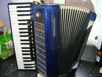 WELTMEISTER 120 BASS PIANO ACCORDION