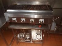 Commercial burger and steak grill ( can be used for kebabs and shsih)