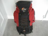 Lowe Alpine Appalachian ND55 + 15 rucksack. Excellent condition. £25