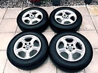 "ALLOY WHEELS 17"" FIT BMW X5 OR VW T5 VAN //// REDUCED PRICE////"