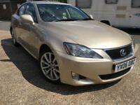 Lexus 250 is Automatic ,petrol 2.5