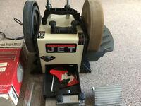 Jet wetstone sharpener woodturning lathe tormek compatible Axminster