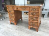 Yew Wood Desk