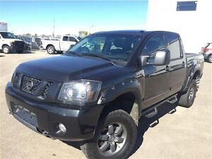 2014 Nissan Titan PRO-4X -Leather Crew-Lifted!