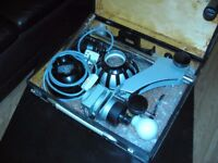 1 x Photographic Enlarger -DURST B30,METRINEG 35. 2. (35mm) -Lens 4-Minolta Rokker 5mm