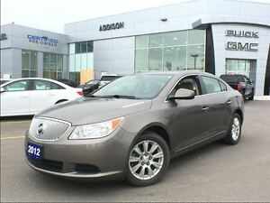 2012 Buick LaCrosse One owner, accident free