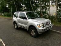 4x4 Automatic Mitsubishi Shogun swb , very good condition, TOW BAR , 1st to view will buy px welcome