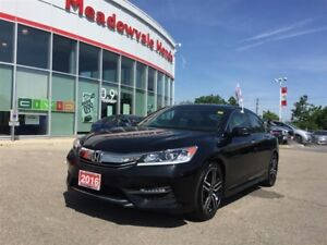 2016 Honda Accord Sedan Sport l Blind Spot Camera l Paddle Shift