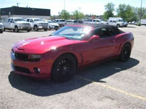 2012 Chevrolet Camaro 2SS-Manual-Convertible-Leather