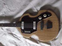EKO 1150 violin bass - 1960s all original. Apparently only 300 ever made. I