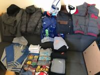 Huge bundle of boys clothes age 7-8 years
