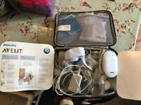 Avent electric breast pump loads of extras