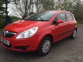 2007 (56) VAUXHALL CORSA 1.3 CDTI SPECIAL 16V 5 DOOR HATCH IN RED 65,000 MILES FEBRUARY 2019 MOT