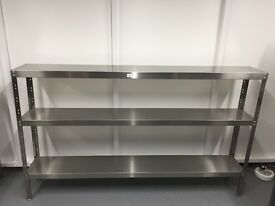 Stainless Steel Shelving | Like New | Barely Used in a Lab
