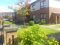 Modern, purpose built retirement flat available now on friendly development in Motherwell