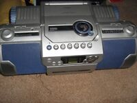 Panasonic Portable CD/Stereo/Tape Player Boombox *EXCELLENT WORKING ORDER*