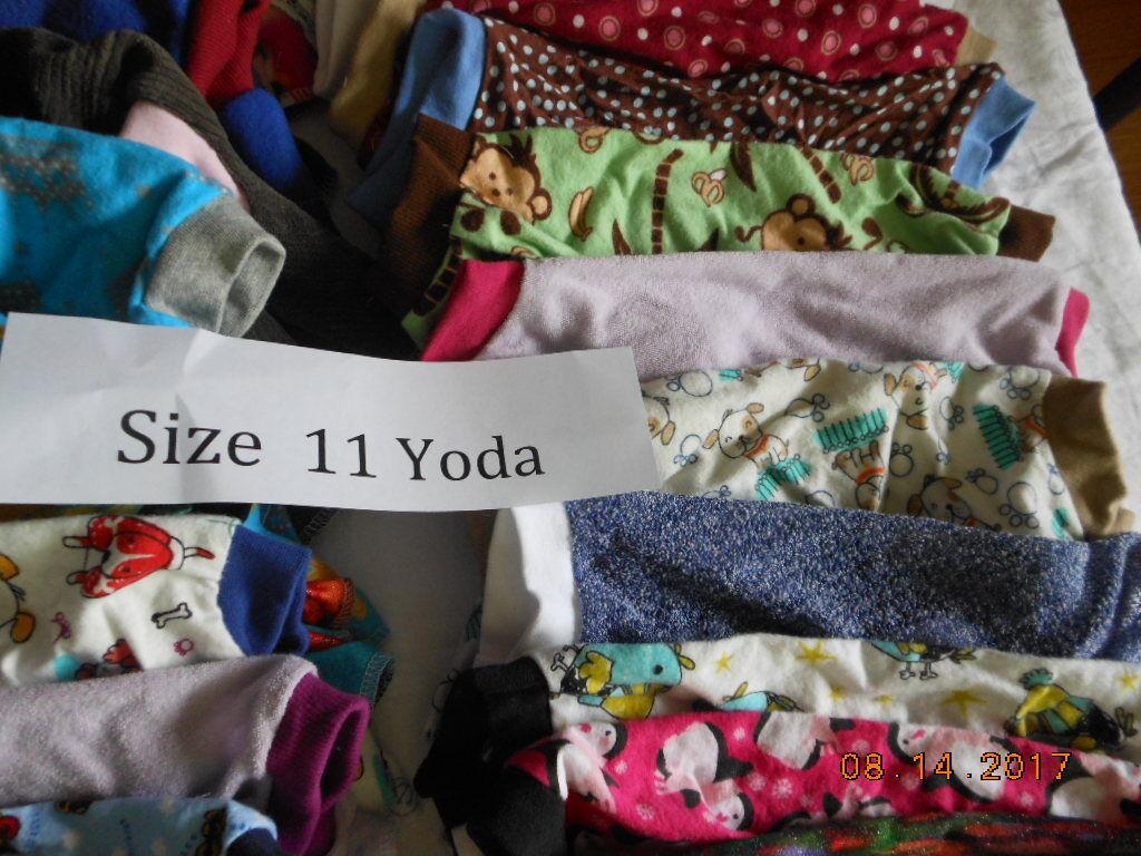 Size 11 Yoda Dog jammies