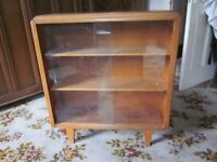 Glass fronted display cabinet (shelves)