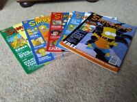 Collection of early Simpsons Comics and posters