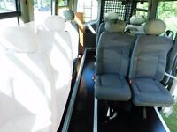 Minibus seats - Can be fitted into the back of any van. Great for campervan conversion