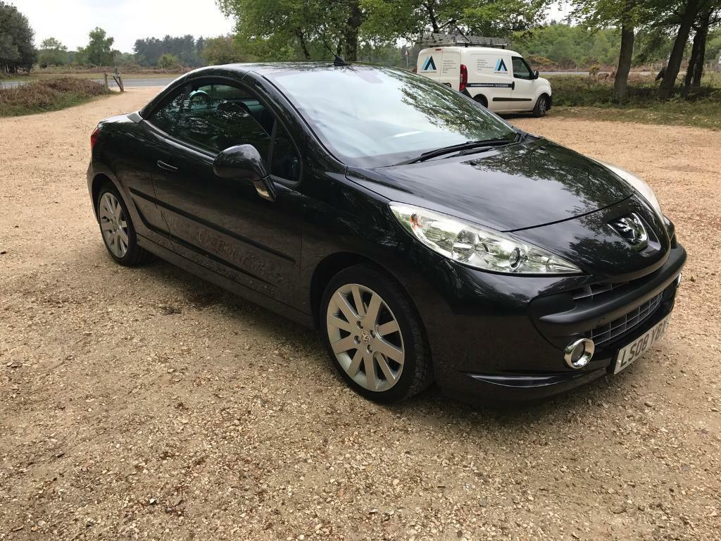 2008 39 08 39 peugeot 208 cc gt low miles in christchurch dorset gumtree. Black Bedroom Furniture Sets. Home Design Ideas