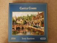 2 x beautiful good quality immaculate Gibsons 1000 piece jigsaw puzzles
