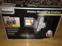 Homedics shiatsu massaging chair