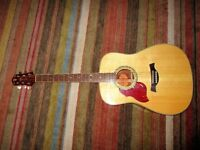 Crafter D8L left handed acoustic.
