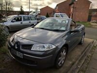 Renault Megan convertible 1.6 petrol