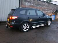 Hyundai Santa Fe 2.2 CRTD CDX+ 4WD DVD REAR SCREEN 12 MONTHS MOT LEATHER SIDE STEP DRL HID LIGHTS