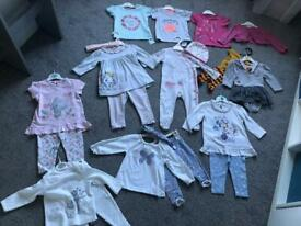 Baby girl 6-9 month outfit bundle
