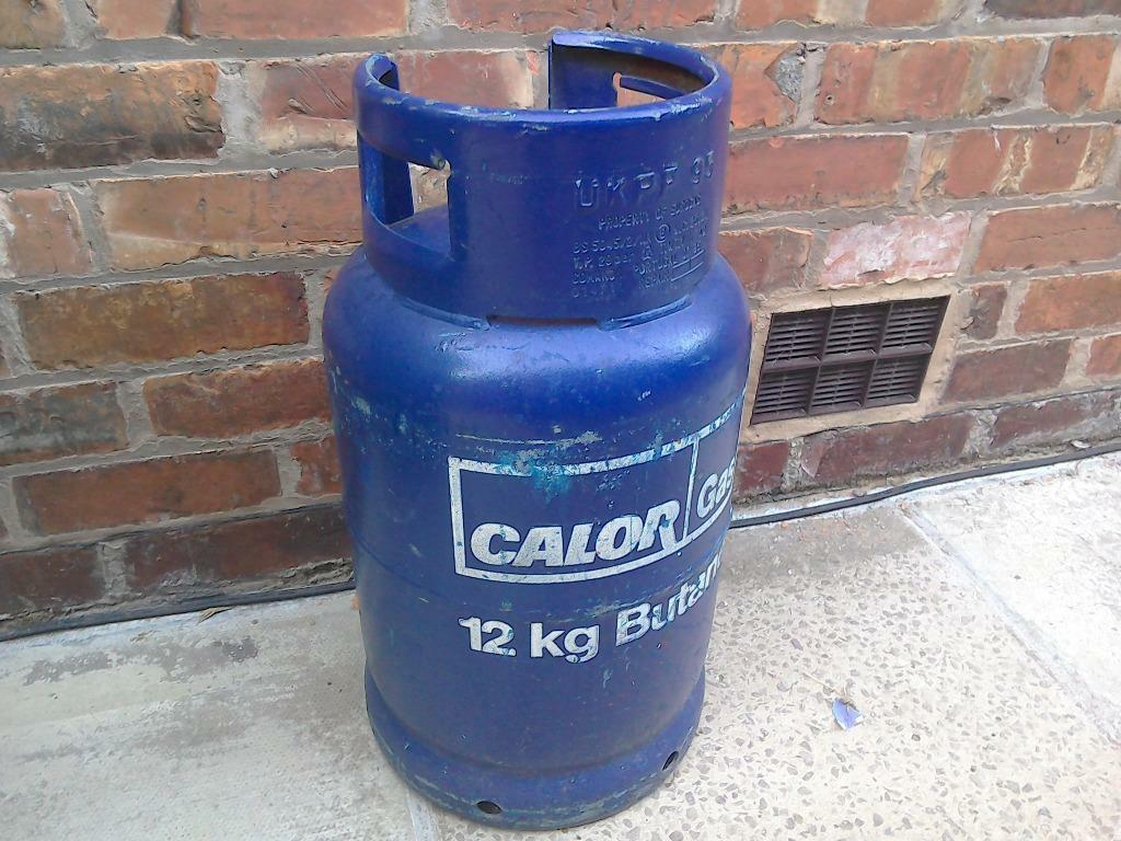 Calor Gas bottle 12kg Butane Nearly New BBQ Gas Cylinder ...