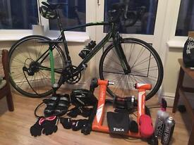 Cycling bike plus all the extras