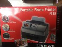 Lexmark P315 portable photo printer