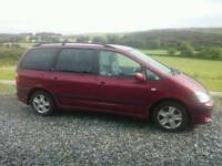Ford galaxy 2.3, full black leather interior, good comdition