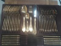 24 karat cutlery set