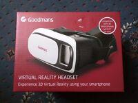 Goodmans Virtual Reality Headset