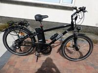 FreeGo Hawk electric bicycle as new.