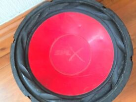 2 Subwoofer Bass speakers SPLX 500W Model SPL 12R