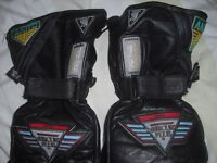 leather motor cycle glove for sale