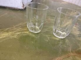 NEW - Small glass cups