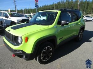 2017 Jeep Renegade Trailhawk 5 Passenger 4X4, 2.4L Gas