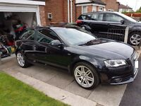 Audi A3 S Line 2.0 Tdi 170 BHP Full History **FACELIFT** *New Shape Day Running Lights*