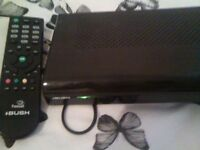 Free sat freeview box with remote. in very good working order